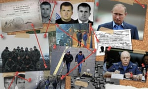 Bellingcat and Salisbury poisoning collage