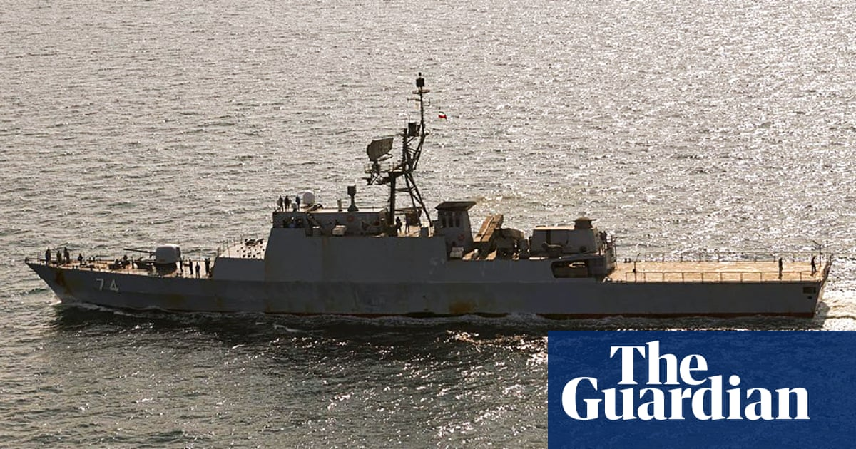 Danish military spots Iranian navy ships in Baltic Sea