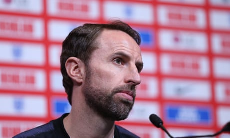 Gareth Southgate defends Declan Rice over apparent pro-IRA posts – video