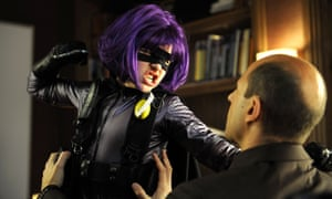 Hit-Girl, the 11-year-old potty-mouthed heroine in Kick-Ass.