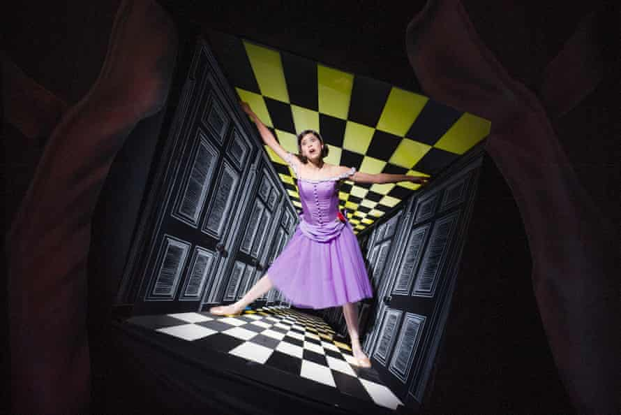 'I'm excited to activate my mind' … Stix-Brunell in Alice's Adventures in Wonderland, by the Royal Ballet