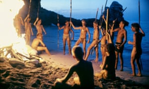 someone missed the point lord of the flies all girls remake still from 1990 adaptation of lord of the flies