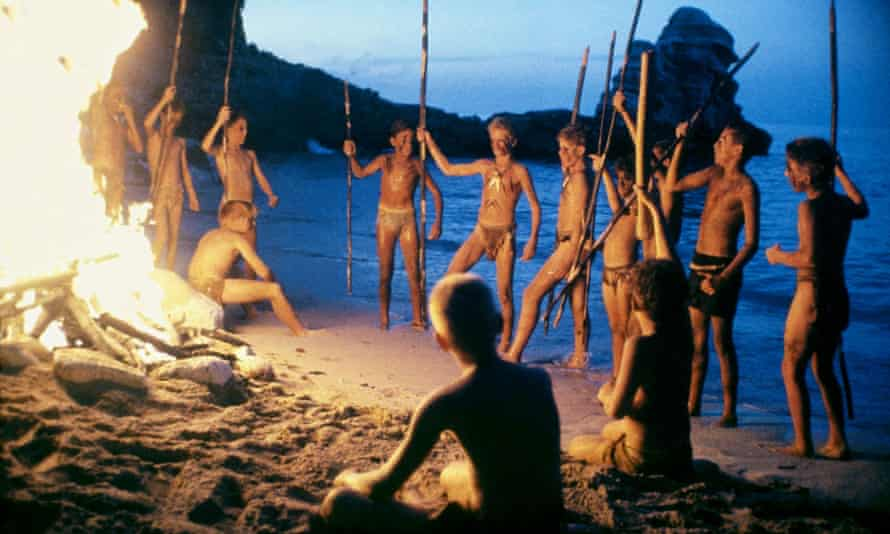 Still from 1990 adaptation of Lord of the Flies