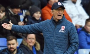Tony Pulis has exchanged text messages with Michael Flynn since the draw was made.