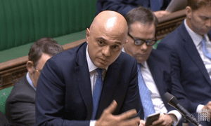 Sajid Javid, the home secretary, responding to an urgent question on knife crime in the Commons.