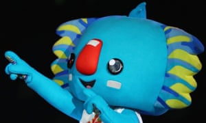 Commonwealth Games mascot Borobi - who went missing during the opening ceremony