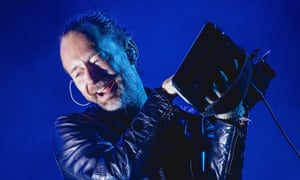 Radiohead … Thom Yorke on stage in Texas earlier this month.