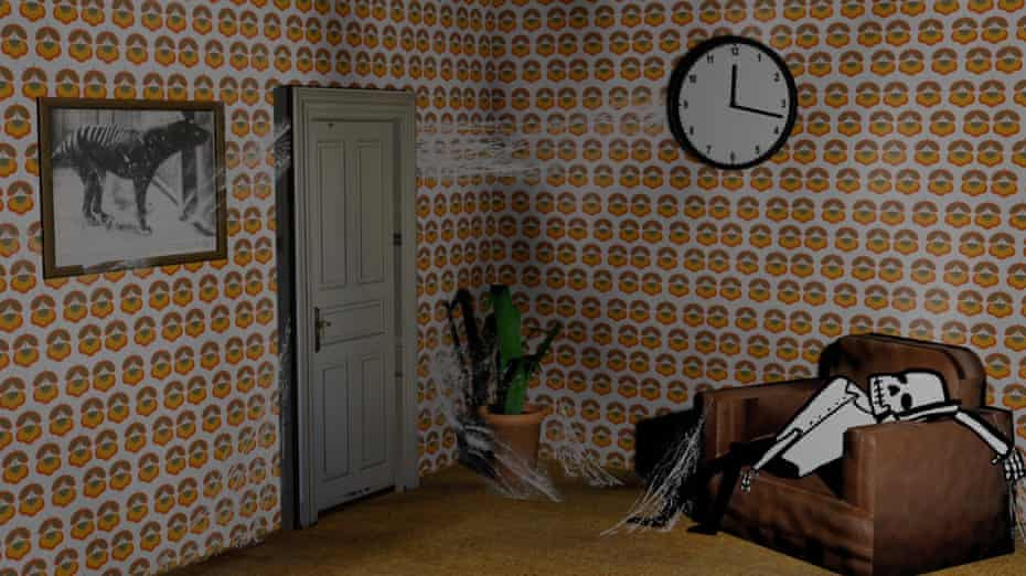 A still from Luca Yi's short film, The Waiting Room