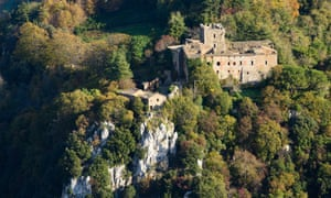 Home and away: Castle in Radicondoli, Siena