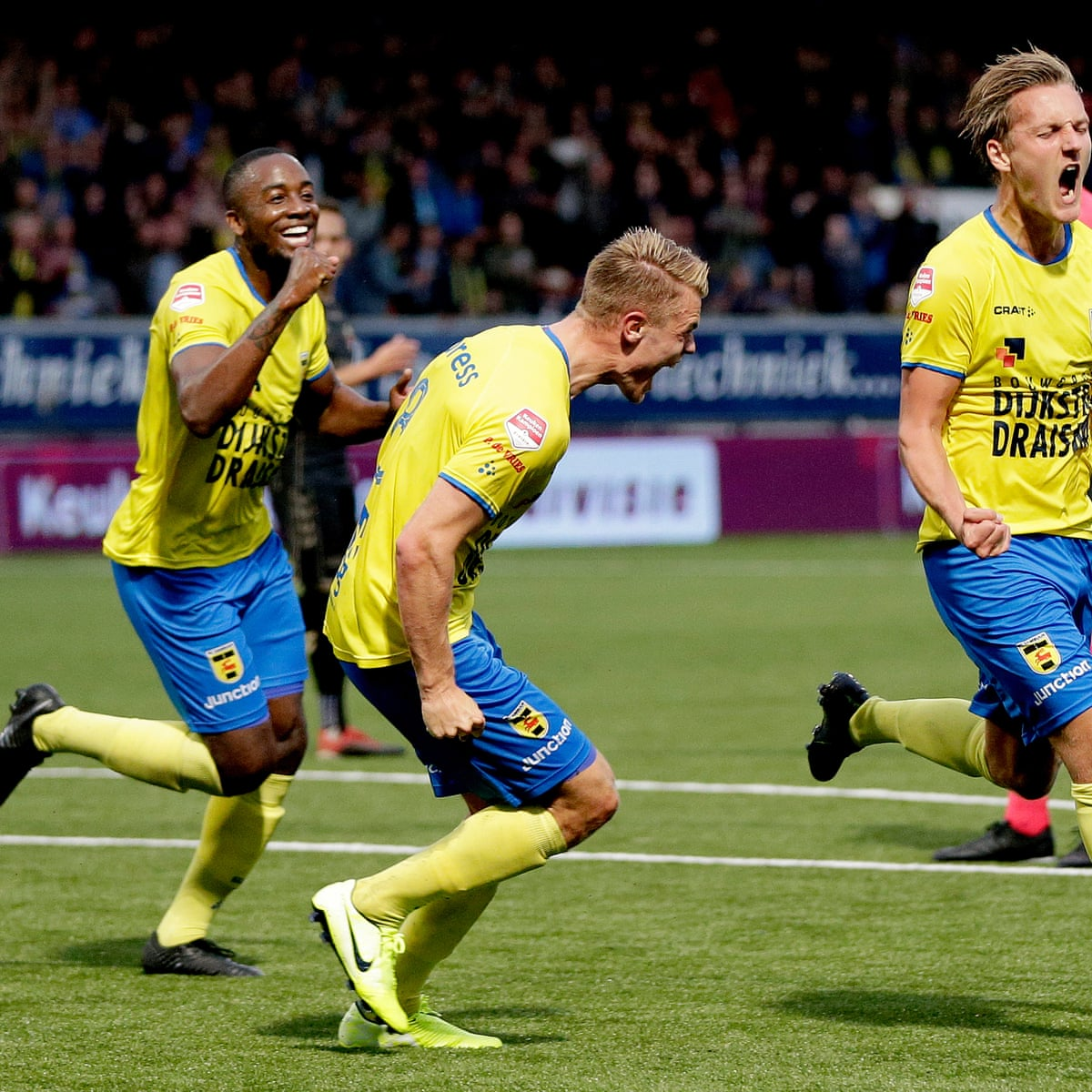This Is Horrible Cambuur Stunned After Dream Season Turns To Dust Eredivisie The Guardian