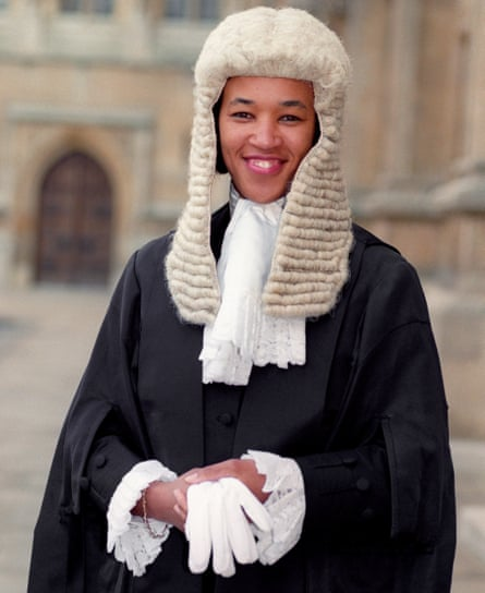 Scotland becomes Britain's first black woman QC, after being sworn in at the House of Lords in 1991.