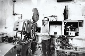 Billy Bell, projectionist in 1981