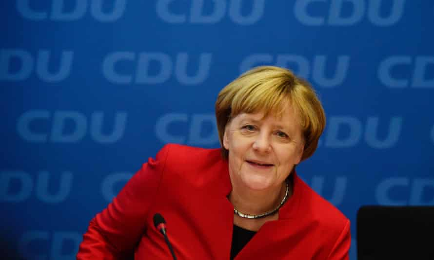 German Chancellor Angela Merkel told her party she will seek re-election next year.