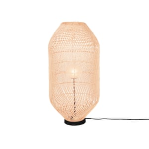 Java floor lamp in rattan, £119, made.com