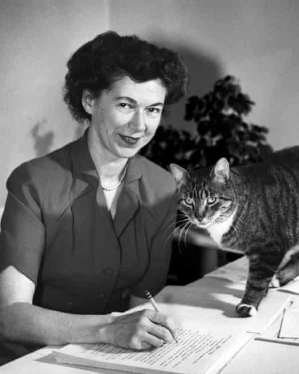 Beverly Cleary in the mid-1950s, when she established the Quimby family as the center of her books.