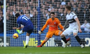 Pedro's early goal gave Chelsea the initiative over Fulham.