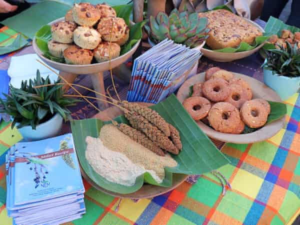 Baked goods prepared from millet flour by the NEN Nagaland team for a farmers' market in Kohima, Nagaland's capital.
