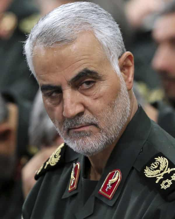 Maj Gen Qassem Suleimani, leader of Iran's elite al-Quds force.