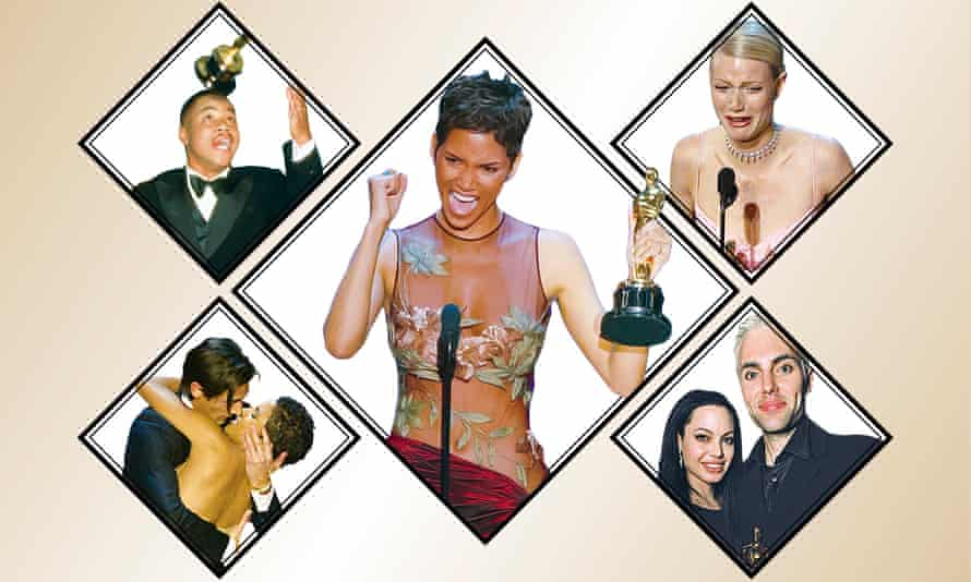 Cuba Gooding Jr; Halle Berry; Gwyneth Paltrow; Angelina Jolie and James Haven; Adrien Brody and Halle Berry