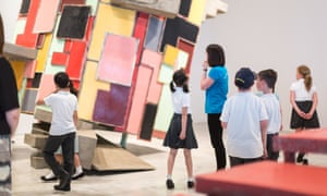 Children at Turner Contemporary in Margate.