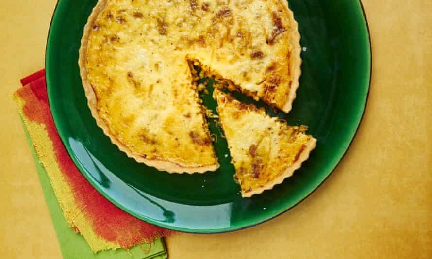 Simon Hopkinson's onion tart