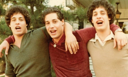 Reunited … Bobby Shafran, Eddy Galland and David Kellman.
