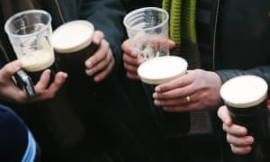 Drinkaware's research found that, on average, men aged 45 to 64 were drinking 37 units a week.