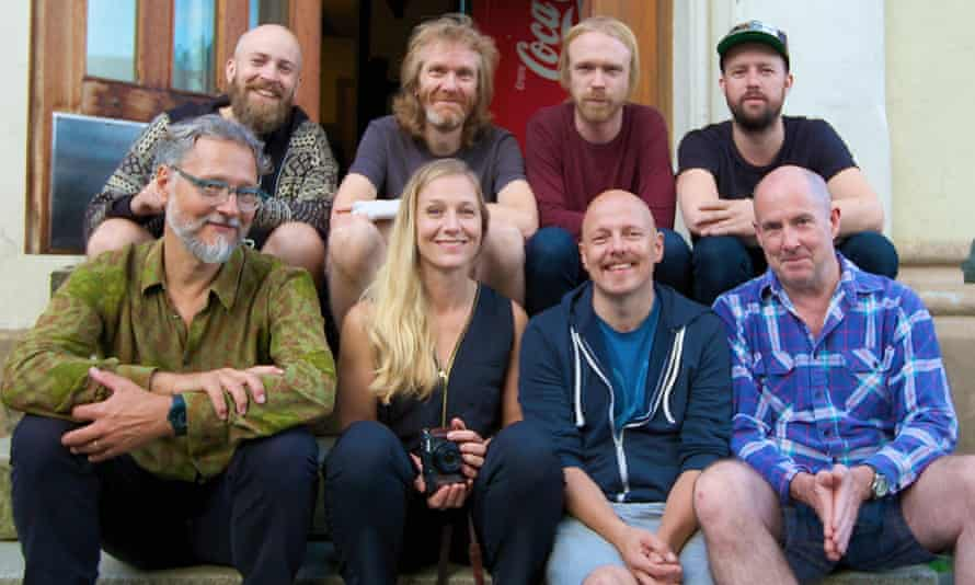 A real blast … some of the musicians on Sky Music: A Tribute to Terje Rypdal.