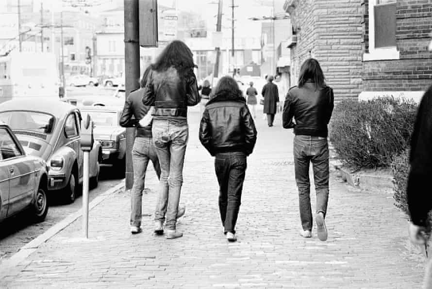 From the photography book My Ramones, by their former manager Danny Fields.