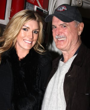 'We sharpen our teeth on each other' … Camilla and John Cleese out in New York in 2008.