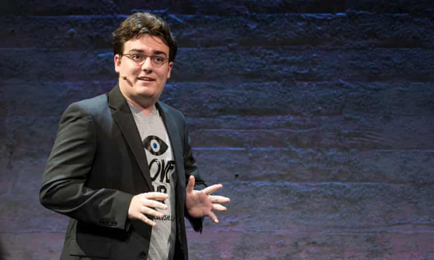 Palmer Luckey, co-founder of Oculus VR Inc
