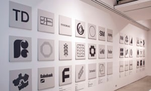 A display of Wim Crouwel's work at the Design Museum, London, in 2011, in a retrospective entitled A Graphic Odyssey.