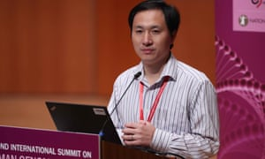 He Jiankui, associate professor at the Southern University of Science and Technology