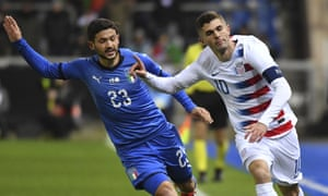 Christian Pulisic, right, has been concentrating on his club career since the US's failure to qualify for the World Cup