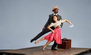 Prentice Whitlow and Vanessa Vince-Pang in Windrush: Movement of the People.
