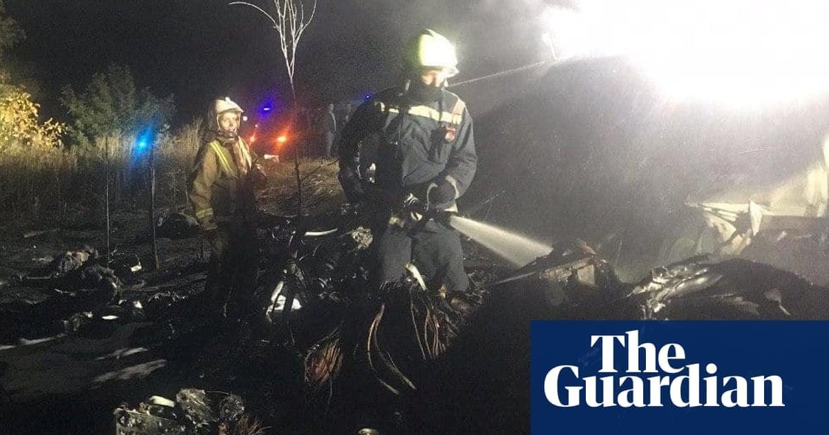 'Terrible tragedy': Ukraine air force plane crash kills at least 22