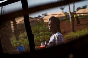 Justine Ndizigeyemana, 47, in Nyarugusu