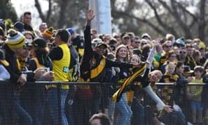 Thousands of Richmond fans