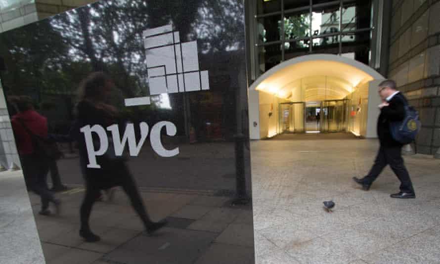 PwC's London headquarters.