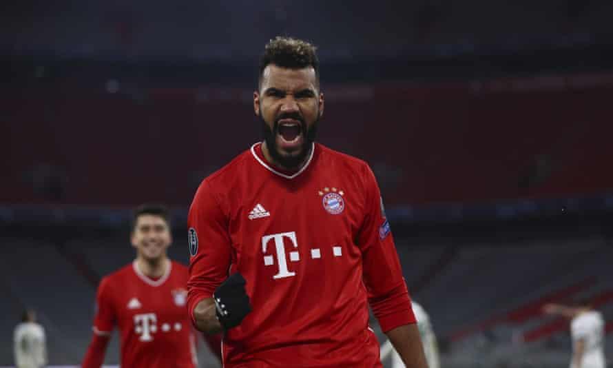 Eric Maxim Choupo-Moting may start for Bayern against Lazio.