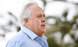 The mining magnate and former politician Clive Palmer
