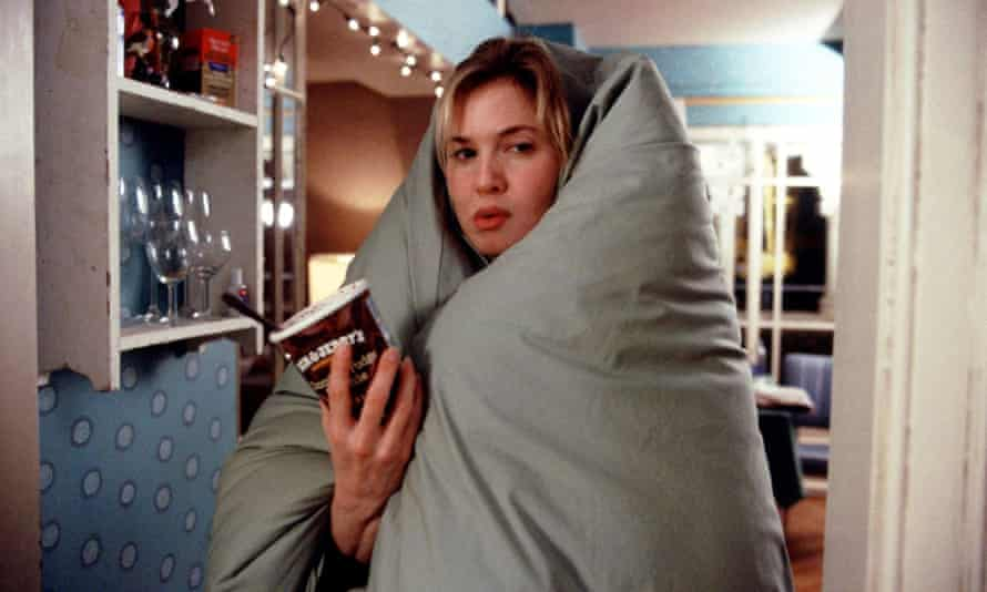 Probably about feelings and kissing and maybe chocolate ... Bridget Jones Diary.