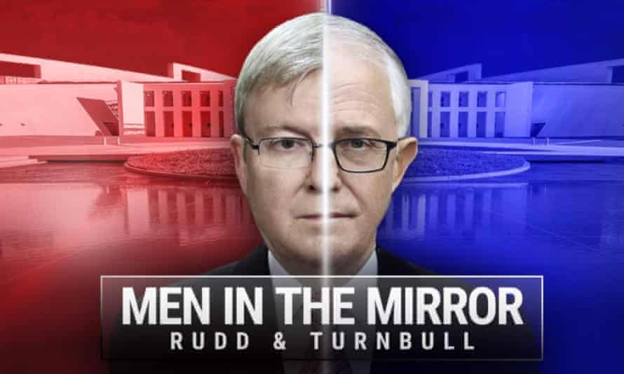 Kevin Rudd and Malcolm Turnbull in the Men in the Mirror promotional material