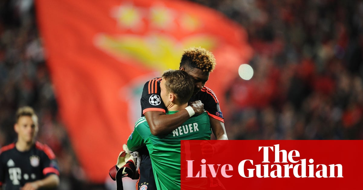 Bayer Benfica Live
