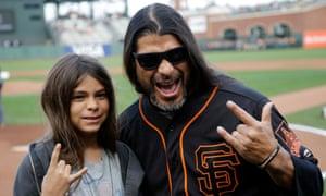 Tye Trujillo with dad Robert.