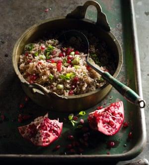 Yagut palau (Pomegranate rice) by Peter Kuruvita