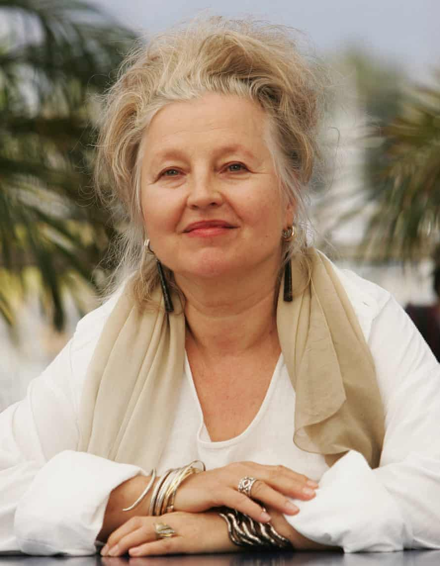 Hanna Schygulla at Cannes film festival in 2007.