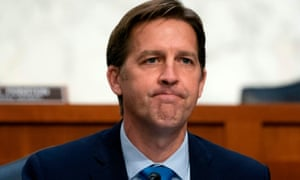 Senator Ben Sasse said Donald Trump 'kisses dictators' butts' and 'flirts with white supremacists'.