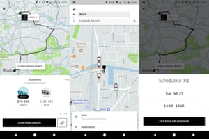 The Uber app might be a lifeline if all other transport mediums fail.