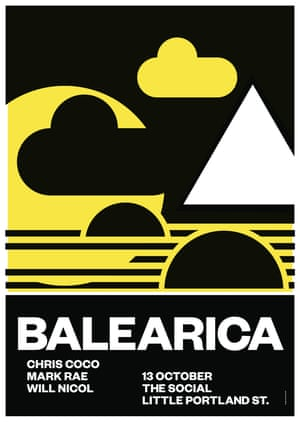 Balearica by Anthony Burrill